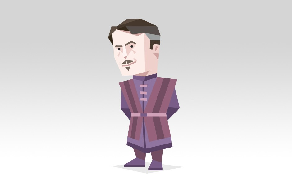 "Petyr Baelish from ""The Game Of Thrones"""