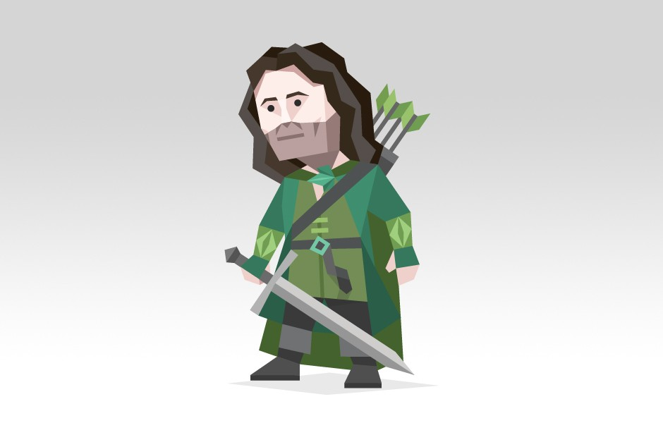 "Aragorn from ""The Lord Of The Rings"""